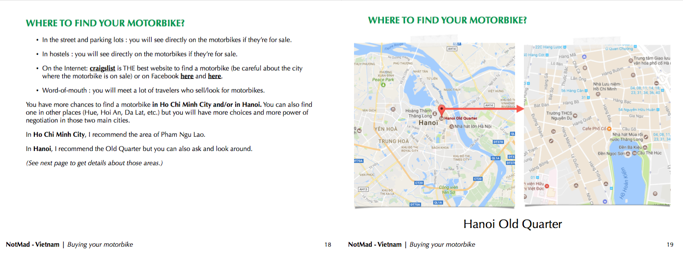 NotMad Guide - How to travel on a motorbike in Vietnam